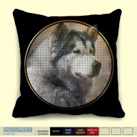 Anjing Alaskan Malamute Dog Cushion Epicline Project by TAP (Bantal)
