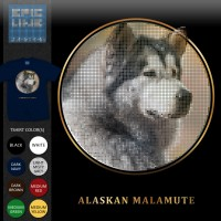 Anjing Alaskan Malamute Dog T-Shirt Epicline Project by TAP (Kaos)