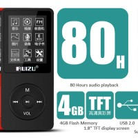 harga Ruizu X02 HiFi DAP MP3 Player 8GB - Black Tokopedia.com