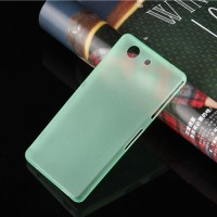 SONY Xperia Z3 Compact - Ultra Thin Slim Matte Hard Case 0.3mm Green