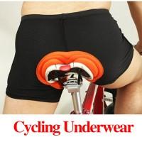 Jual Celana Sepeda Underwear Padding 3D Murah