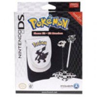 POKEMON BLACK AND WHITE SLEEVE KIT - BLACK (DS LITE/DSI/3DS)