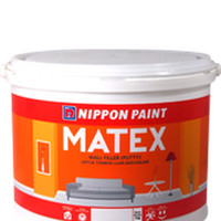 Matex Nippon 1kg Dempul Plamir Putty Tembok Asbes Beton Cat Dasar