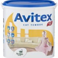 Cat Avitex Avian 5 kg Tembok Interior Plafon Beton Acrylic Emulsion