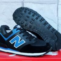 harga Sepatu Sekolah Running-casual-new Balance 574 Kids Hitam Biru- Tokopedia.com