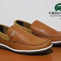 Crocodile Knitting Rajut Sepatu Casual Pria Termurah Cp5