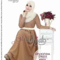 Nuhijab Diva Vida Dress Mocca XL