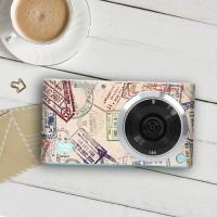 Garskin Original Untuk Kamera Samsung NX mini (Tipe: Visa Stamps)
