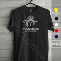 kaos real madrid, Tshirt real madrid, madridista indonesia