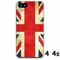 FOR IPHONE 4 4S - SOFT JELLY CASE FLAG OF ENGLAND CASING