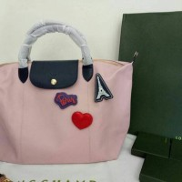AUTHENTIC LONGCHAMP LE PLIAGE CUIR LIMITED EDITION FOR TAIWAN