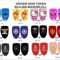 Garskin/Skin Token Bca,Mandiri Dll