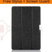 Premium Leather Flip Case Cover - Asus Transformer Book T100TA T100TAM
