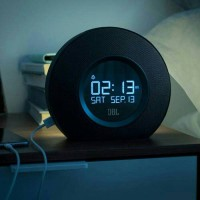 "JBL HORIZON BT CLOCK RADIO WITH USB CHARGING & AMBIENT LIGHT ""BLACK"""