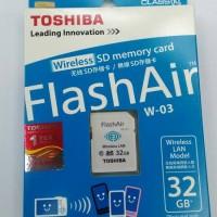MEMORY TOSHIBA FLASHAIR 32GB(WIFI)
