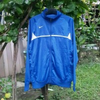 Jaket Nike Rio II Warm Up Royal Blue/White Sz S 100% Original