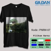 Kaos Gildan Softstyle - Gambar Panorama / Pemandangan Alam 4