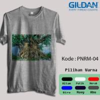Kaos Gildan Softstyle - Gambar Panorama / Pemandangan Alam 1