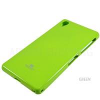 Sony Xperia Z3 Jelly Case Green Mercury Goospery