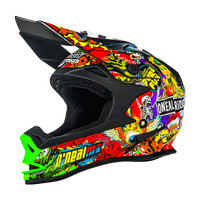 harga Helm Trail / Cross Oneal 7 Series Evo Crank Black Multicolour ORI Tokopedia.com