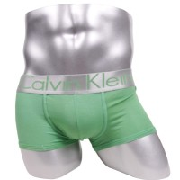 Calvin Klein Steel Microfiber Low Rise Trunks Green model boxer/trunk