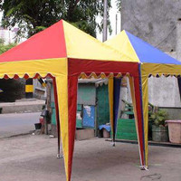 harga Tenda Cafe Murah Uk 2x2 Tenda Piramid / Jualan / Kerucut / Gazebo Tokopedia.com