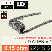 Authentic UD ALIEN v2 Kanthal A1 Coil 0.15 ohm | 313295 | vapor