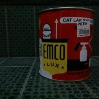 Cat minyak/ Cet/ Cat Kayu/ Cat Besi EMCO Warna Putih 1 kg