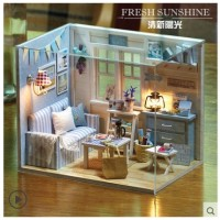 Do It Yourself Miniature - Fresh Sunshine (Diorama Doll House)