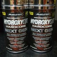 NEW FORMULA Muscletech: Hydroxycut Hardcore Next Gen 100caps