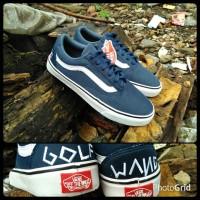 sepatu vans old skool golf wang blue navy