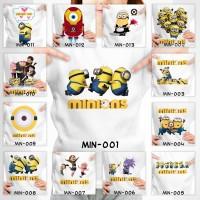 Kaos Anak Minion - 13 Motif/Design