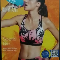 Jual SPORT BRA branded Crivit (German) #274016-2 Palm Beach Murah