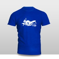 harga Kaos Baju Pakaian Motor Yamaha Byson F1 Siluet Murah Tokopedia.com