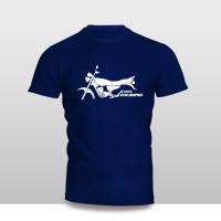 Kaos Baju Pakaian MOTOR YAMAHA RX KING SILUET murah