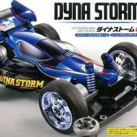 TAMIYA MINI 4WD Dyna Storm RS (Super II Chassis)