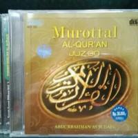 CD MUROTTAL AL-QURAN JUZ 30 ABDURRAHMAN AS SUDAIS