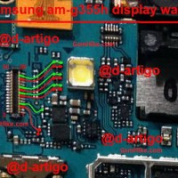 Connector Lcd Samsung G355H G355 Core 2