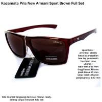 kacamata sunglasses pria new armmany full set