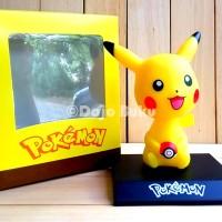 Pokemon Pikachu Bobble Head (Kepala Goyang) Pajangan Mobil