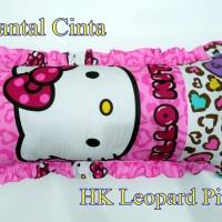 harga Sarung Bantal Cinta Motif Hello Kitty Leopard Pink (Sarung Saja) Tokopedia.com