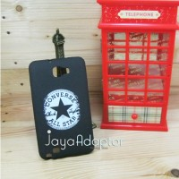 Softcase Black id Samsung Note 1 - Converse