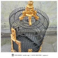 harga Sangkar Burung Anis Fiber Tokopedia.com