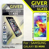 Tempered Glass Screen Protector Bening 0.30 Mm Samsung S5 Mini