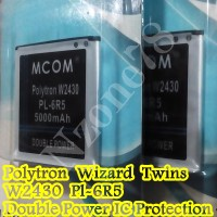 Baterai Polytron W2430 Wizard Twins Pl-6r5 Double Power Protection