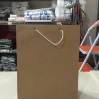 Paper Bag | Paperbag Polos Uk. Buku (isi 12 pcs)