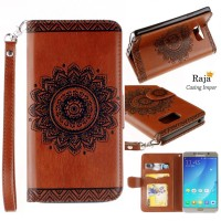 harga Samsung Galaxy Note 5 case leather case cover wallet dompet handphone Tokopedia.com