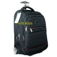 harga Tas Ransel Trolly Travel Backpack Trolley Polo Road PR 4086 Tokopedia.com