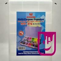 Tool Box Gunindo / Clear Box /Multi Purpose Organizer/Kotak Transparan