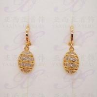 harga Yaxiya (cincin gelang kalung liontin) anting permata warna gold 18k Tokopedia.com